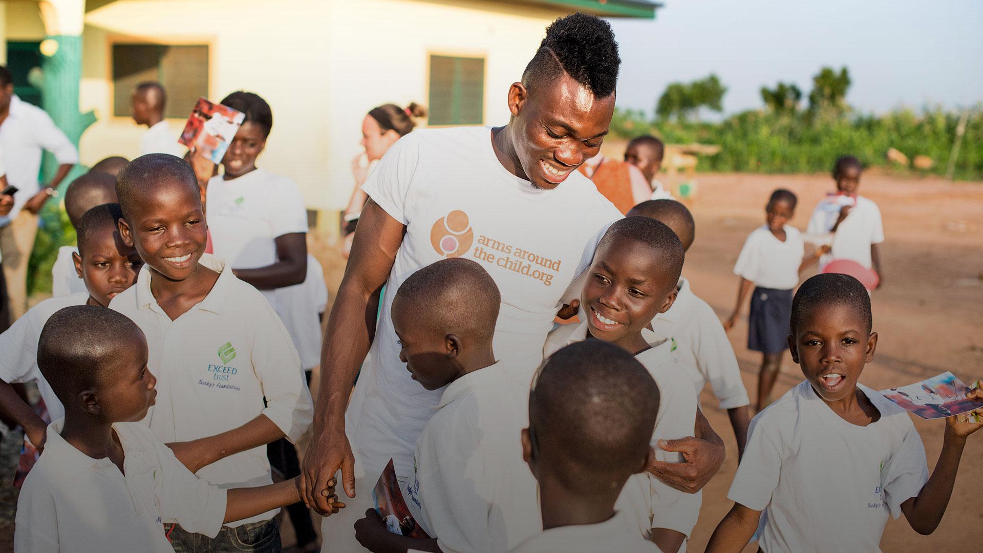 AATC launch in Ghana with Christian Atsu as ambassador