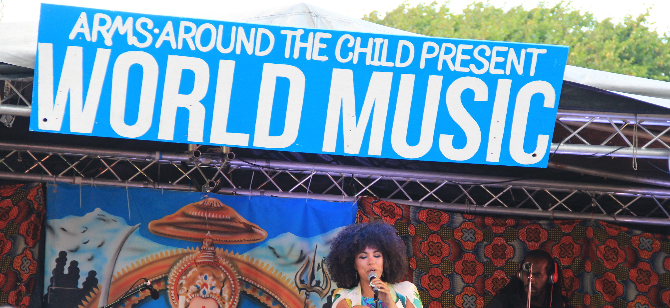 World Music Village at Victorious Festival with Arms Around the Child