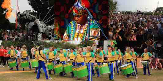 Victorious music festival, World Music Village