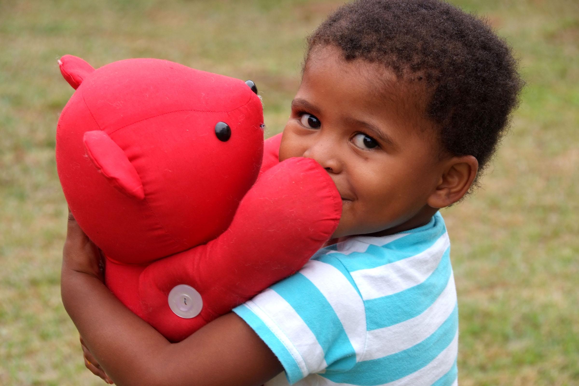 Bobbi Bear, Arms Around the Child