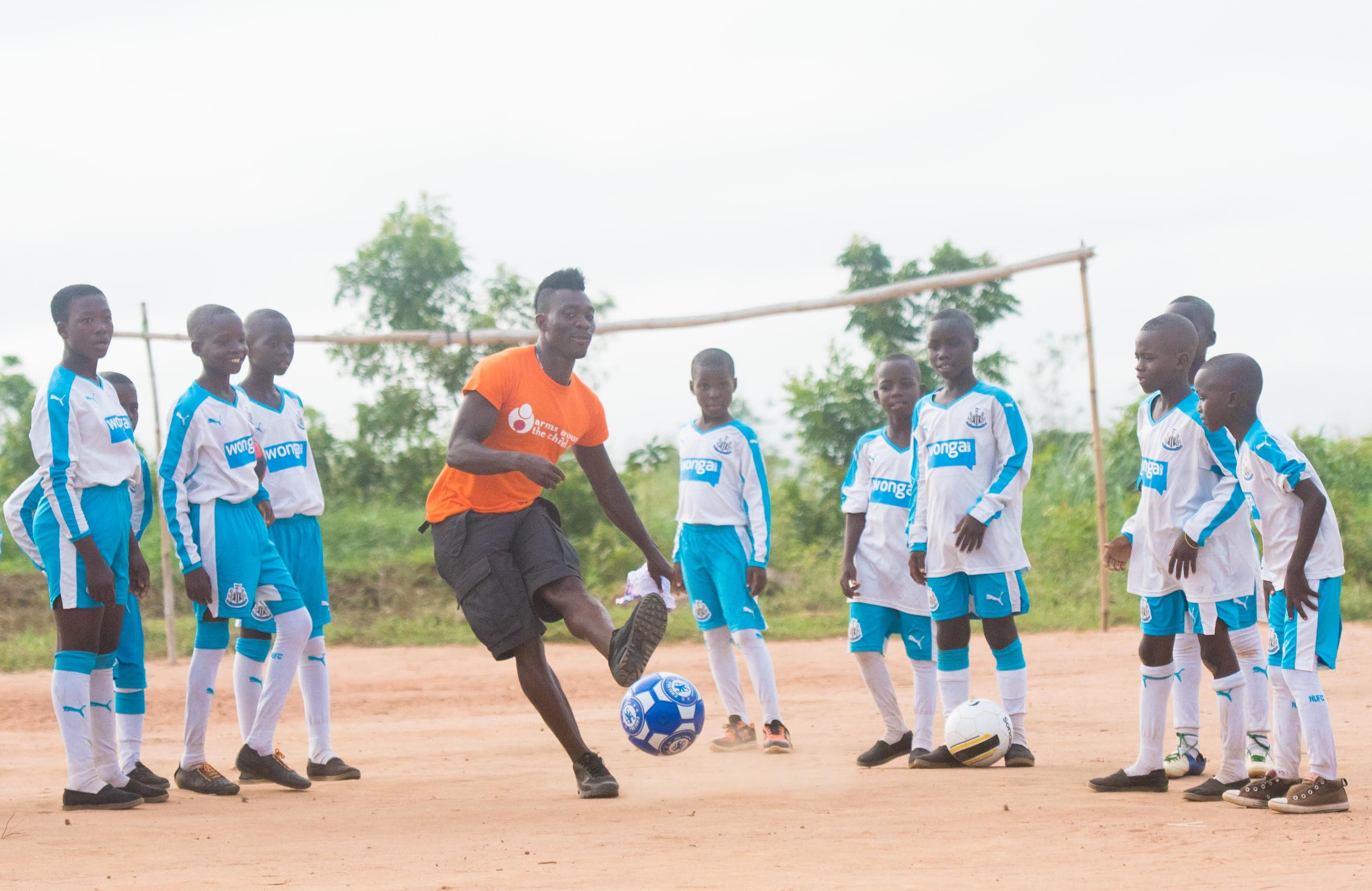 Black Star Gala, Atsu, Ghana Training