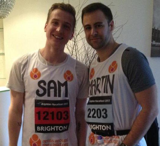 Sam Harper Brighouse, Brighton Marathon